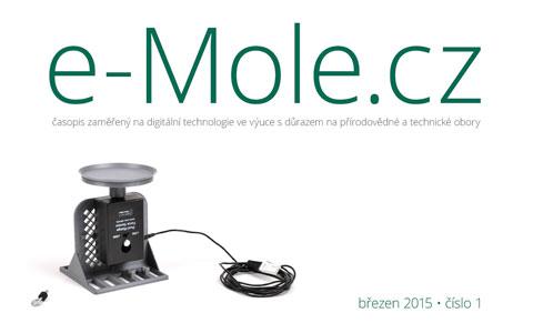 e-Mole číslo 1 je tu!