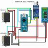 Obr. 1: Zapojení robota Fretky rozšířeného o bluetooth modul HC-06