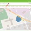 Obr. 11: Zobrazení konkrétní lokality na mapě