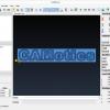 Obr. 4: CAMotics zobrazí po otevření ukázkový soubor, na kterém je možné simulaci vyzkoušet bez vlastních dat