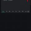 Obr. 73: Blynk app: Po přidání a nastavení widgetu SuperChart aplikaci spustíme