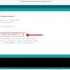 Obr. 81: Arduino IDE: Svoji textovou zprávu musíme vložit opět mezi uvozovky