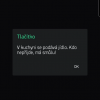 Obr. 86: Blynk app: Takto vypadá doručená zpráva, když je Blynk aplikací v popředí