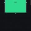 Obr. 93: Blynk app: Velikost a pozici widgetu tlačítka je vhodné upravit