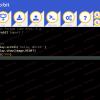 Obr. 12: Okno Python Editoru beta s ukázkovým programem (stejným v obou verzích)