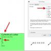 Obr. 21: Inkscape – GcodeTools, dialog Tools library a výsledný prvek, ve kterém následně upravíme nastavení (průměr nástroje a rychlost)
