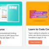 Obr. 40: SAM Labs - přehled materiálů - STEAM a Learn to Code rozcestník