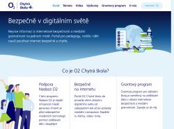O2 Chytrá škola: bezpečně v digitálním světě