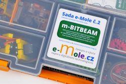 m-BITBEAM - konstrukční robotická programovatelná stavebnice