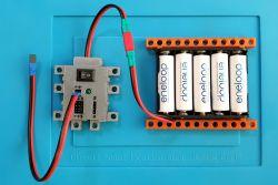 Stavíme m-BITBEAM modul napájení